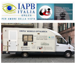 foto unita mobile oftalmica